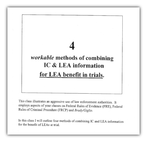 4 workable DEA methods