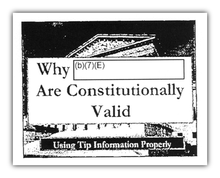Constitutional why redacted