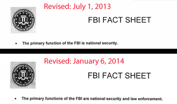 FBI primary functions both
