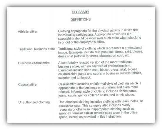Looking for the definition of business casual? Here's the