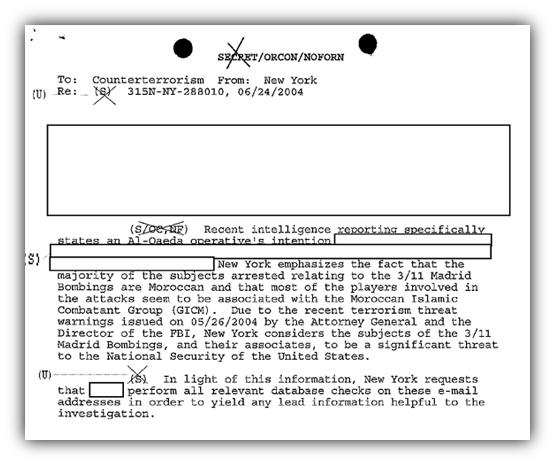 NY FBI email checks