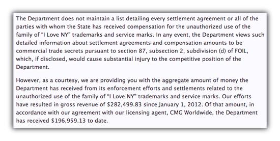 Settlement total