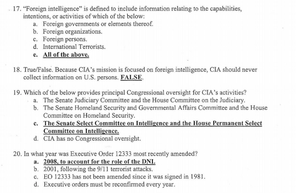 Are you smarter than a CIA agent? • MuckRock