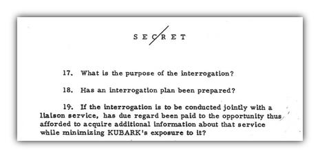 Liaison intelligence gathering