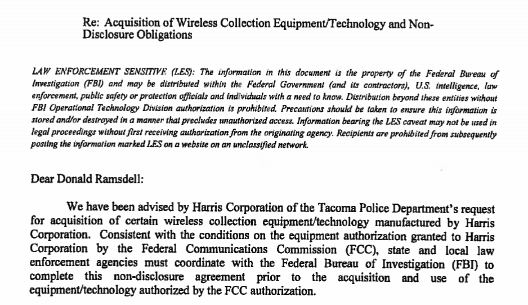 Before They Could Track Cell Phone Data Police Had To Sign A Nda